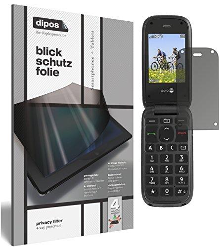 dipos I Blickschutzfolie matt passend für Doro PhoneEasy 613 Sichtschutz-Folie Display-Schutzfolie Privacy-Filter