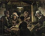 1art1 52524 Vincent Van Gogh - Die Kartoffelesser, 1885 Poster Kunstdruck 50 x 40 cm