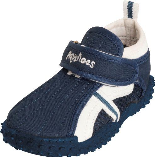 Playshoes Unisex-Kinder UV-Badeschuhe Aqua Schuhe, Blau (Marine 11), 24/25 EU