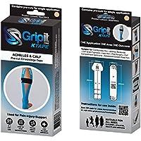 Tenscare G1CAT1 Gripit - Vorgeschnitten Kinesiology Tape - Wade/Achillesferse, beige preisvergleich bei billige-tabletten.eu