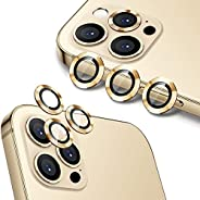 Wsken Camera Lens Protector for iPhone 12 Pro Max (6.7 inch), Premium HD Tempered Glass Aluminum Alloy Accesso