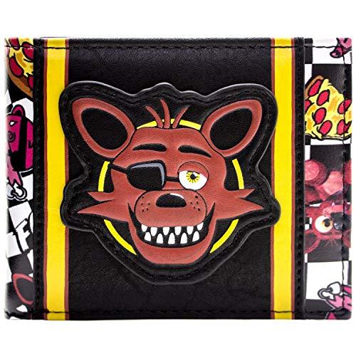 Five Nights at Freddys Foxy Schwarz Portemonnaie -