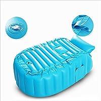 Nome del prodotto: Vasca da bagno gonfiabile Formato: 98 * 65 * 28cm Colore: blu, rosa Materiale: spessore 6P materiale di protezione ambientale Spazio applicabile: bagno, camera da letto, esterno e così via. ...