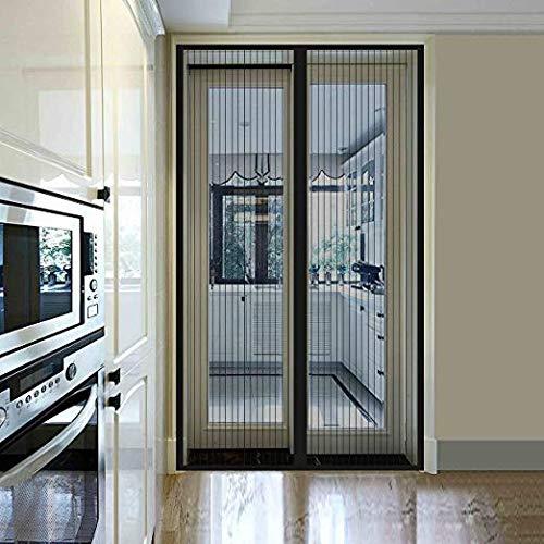 XXYY Anti Moskito Insekt Fly Bug Mesh Vorhänge Magnetische Automatische Schließen Tür Bildschirm, Balkon Schlafzimmer Moskito Vorhang Magnetischer Vorhang,200x220cm(79x87inch)