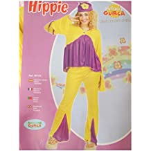 Disfraz de Hippie. talla única de mujer.