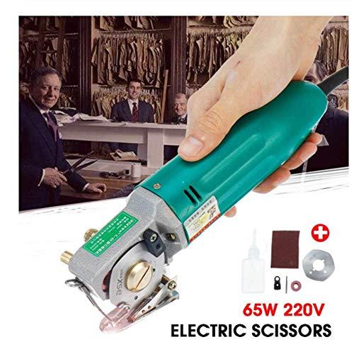 SISHUINIANHA 65 Watt 220 V Elektrische Schere Stoffschneider Stoffschneidemaschine Rotary Blade Elektrische Rundmesser Us-stecker