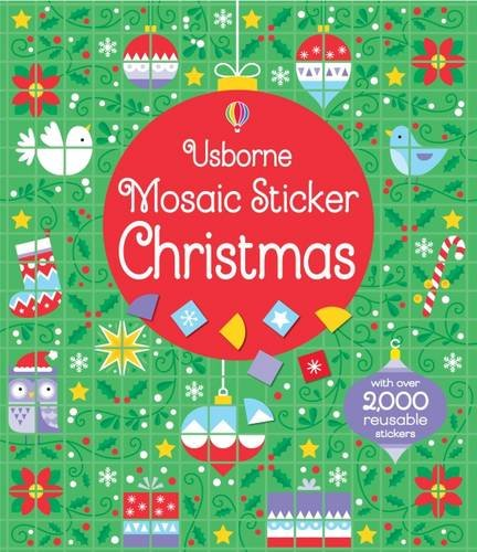 Mosaic Sticker Christmas (Mosaic Sticker Books)