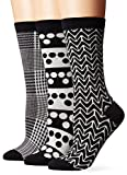 Ozone Women's Novelty Crew Socks 3 Pack,...