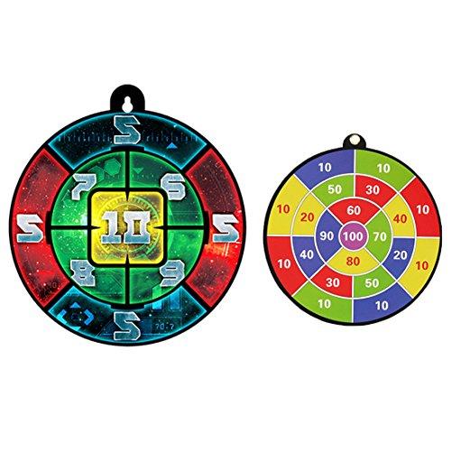 FOKOM 2er Dartscheibe Dartboard Zielscheibe für Nerf Zubehör