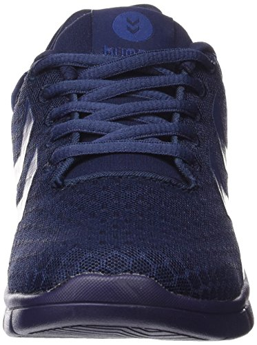 Hummel Effectus Breather, Baskets Basses mixte adulte Blau (Evening Blue 8602)