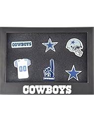 Dallas Cowboys 6Pinset dans boîte cadeau–NFL Football Supporter Boutique