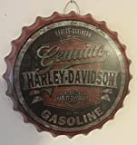Harley Davidson Genuine Motor OIL bottle CAP tin SIGN - Kronkorken Blechschild