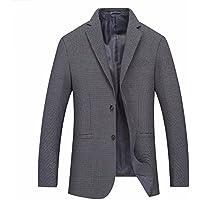 Blazer Costume Mode Augmentation Costume Écossais Taille Loisirs Costumes Pour Hommes