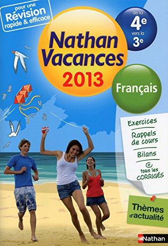 CDV 2013 FRANCAIS 4E/3E