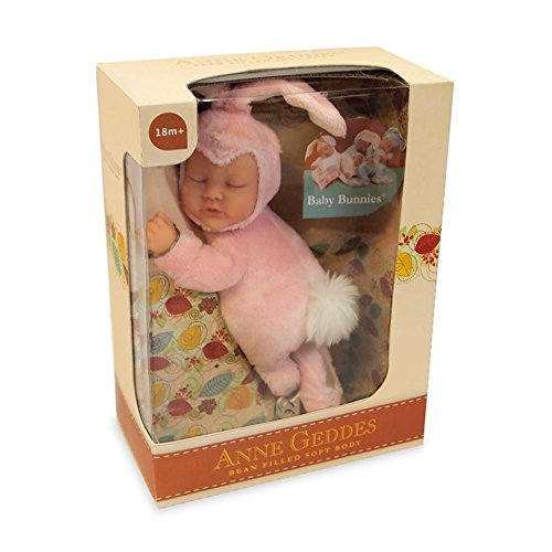 Dolls 100% Quality Anne Geddes Easter Bunny Doll Pink Ears To Produce An Effect Toward Clear Vision