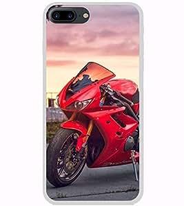 Fuson Designer Back Case Cover for Apple iPhone 7 Plus (sports enfield royal bullet motorcycle)