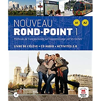Nouveau rond-point 1 A1 A2 : Livre de l'élève + CD Audio (1CD audio)
