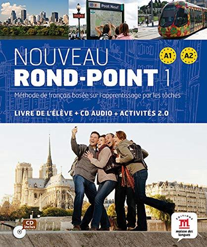 Nouveau rond-point 1 A1 A2 : Livre de l'élève + CD Audio (1CD audio)