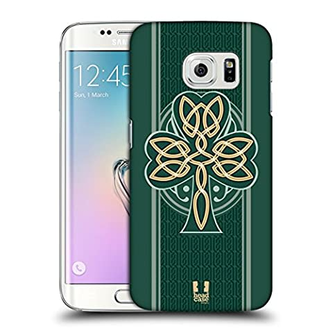 Head Case Designs Dara Knot Celtic Shamrock Hard Back Case for Samsung Galaxy S6 edge