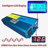 Inverter a onda sinusoidale pura da 1500W / 3000W (picco), da 12Vdc a...