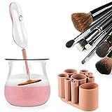 Make up Pinsel Reiniger - SUPTEMPO Elektrischer Kosmetikpinsel Reinigungsgerät und