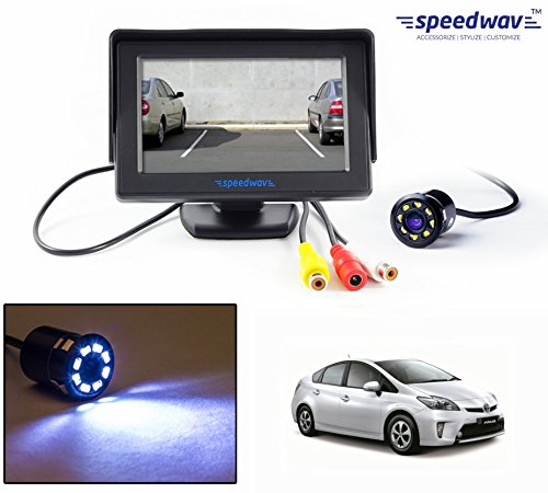 "speedwav 4.3"" lcd tft monitor & led reverse parking camera-toyota prius hybrid Speedwav 4.3″ LCD TFT Monitor & LED Reverse Parking Camera-Toyota Prius Hybrid 51X5tSeewyL"