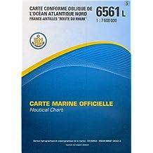 Carte marine : Océan Atlantique Nord