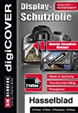 DigiCover B4398 Protecteur d'affichage de caméra pour Hasselblad X1D-50c Transparent