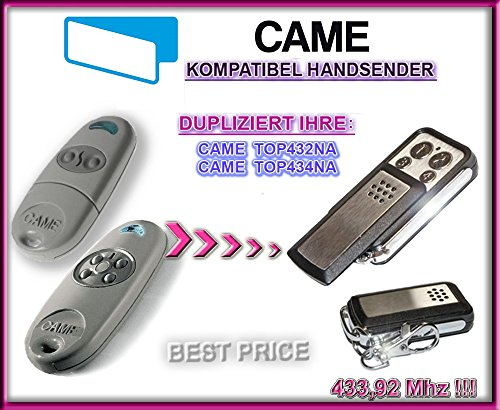 Came TOP432NA, CAME TOP434na compatibile handsender, cloni Fernbedienung, 4canali 433,92MHz Fixed Code. Top qualità kopiergeraet.