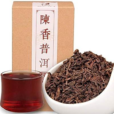 Chine Puer thé en boîte 120g (0.26LB) mûr pu-erh en vrac Thé noir vieil arbre santé biologique des aliments sains