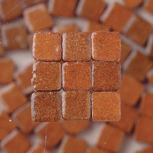 Unbekannt 229302810x 10x 3mm 70g 150-tlg. Keramik glasiert Mosaik Fliesen, braun