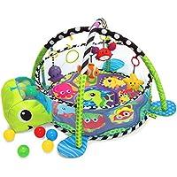 Krabbeldecke mit Spielbogen und Bällen preisvergleich bei kleinkindspielzeugpreise.eu