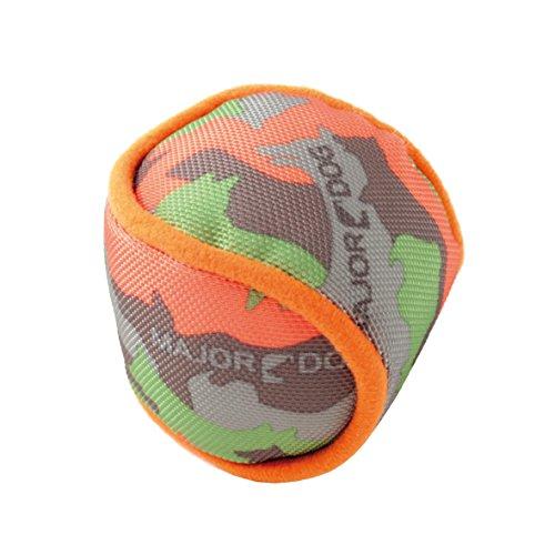 """MAJOR DOG Stoffball """"Murmel"""" schwimmfähiges strapazierfähiges Hundespielzeug robust & schadstofffrei TÜV geprüft"""