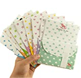 Funcoo 32 Cute Kawaii Lovely Writing Stationery Paper with 16 Envelope + 1 Sheet Label Seal Sticker (Style-4)