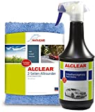 ALCLEAR 71100SV Lack Schnellversiegelung 1 Liter inkl. Mikrofaser Auto Poliertuch für Autopflege