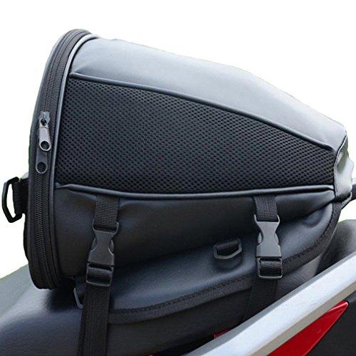 Reiten Camping Motorrad Im Freien Taschen Reisetasche Rücksitz Tasche Racing Schwarz One Size