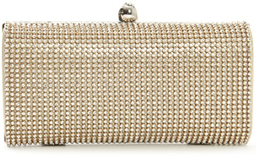 Big Handbag Shop , Damen Clutch One gold