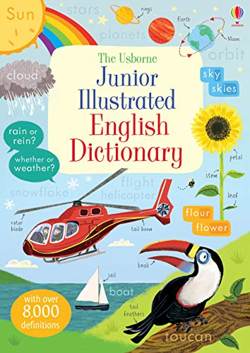 Junior Illustrated English Dictionary (Illustrated Dictionary & Thesaurus)
