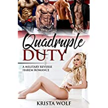 Quadruple Duty - A Military Reverse Harem Romance (English Edition)