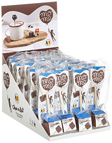 Choc-o-lait Trinkschokolade am Stiel - Milchschokolade 24 Sticks, 1er Pack (1 x 790 g)