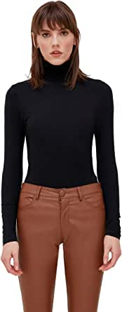 Motivi : T-Shirt Dolcevita Basica Donna