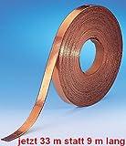 Kupferband, 33m lang, 5mm breit