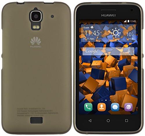 mumbi Schutzhülle für Huawei Y3 Hülle transparent schwarz