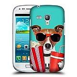 Head Case Designs Hund Im Kino Komische Tiere Snap-on Schutzhülle Back Case für Samsung Galaxy S3 III mini I8190