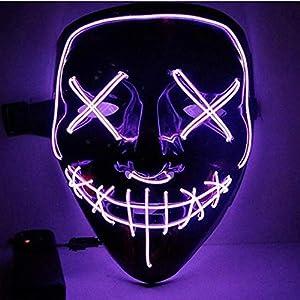 Kaliwa LED Máscaras Halloween, Halloween