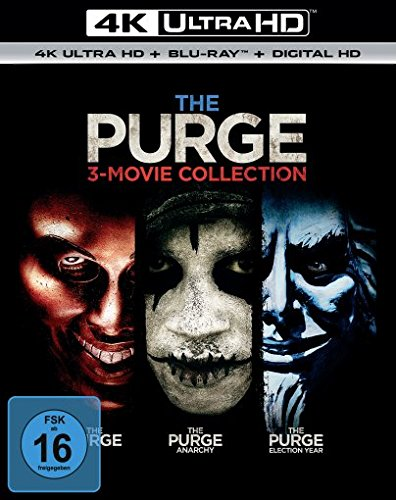 The Purge Trilogie - Ultra HD Blu-ray [4k + Blu-ray Disc]