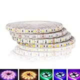5050 RGB Tira LED Impermeable 5M 300LED DC 12V RGBW RGBWW