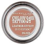 Maybelline New York Lidschatten Eyestudio Color Tattoo 24h Creamy Beige 98 / Gel-Cream Eyeshadow Beige matt, langanhaltend, 1 x 4 g