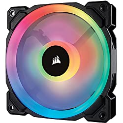 Corsair LL120 RGB Ventola da 120 mm, Dual Light Loop RGB LED PWM, Confezione Singola