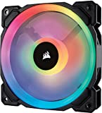 Corsair  CO-9050073-WW LL120 120 mm Dual Light Loop RGB LED PWM Fan - Black